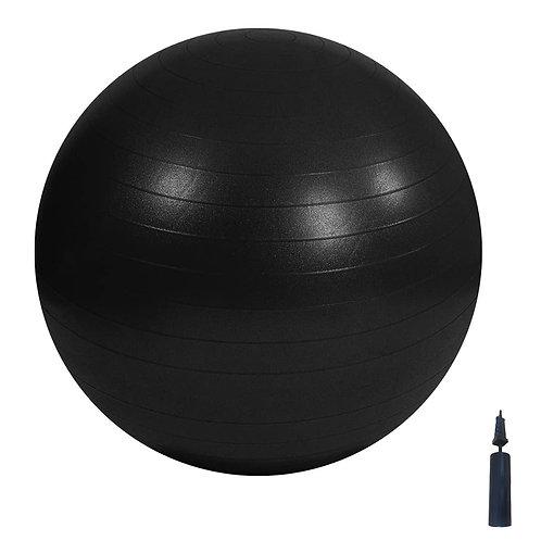 Swiss Ball -95cm - Black with pump