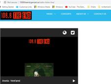 Avoria su 108.8 The End Radio