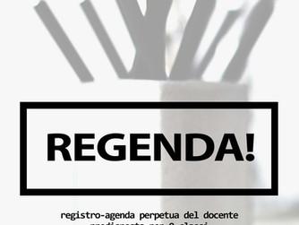 Regenda! Il nuovo registro-agenda del docente