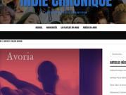 Avoria sul blog Indie Chronique