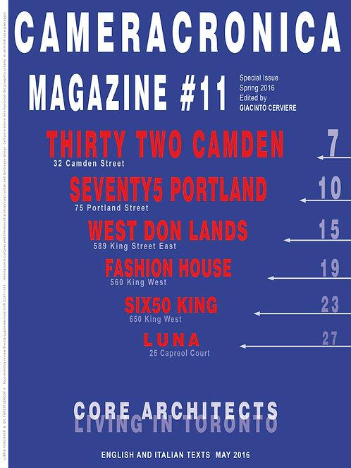 CAMERACRONICA #11 (printed)