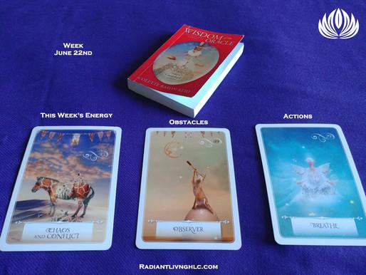 Oracle Card Reading - Week of June 22nd