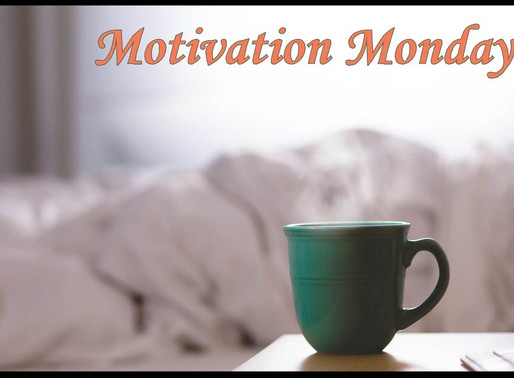 Motivation Monday - Goal Setting