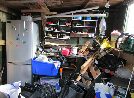 Feeling overwhelmed? Try clearing the clutter!