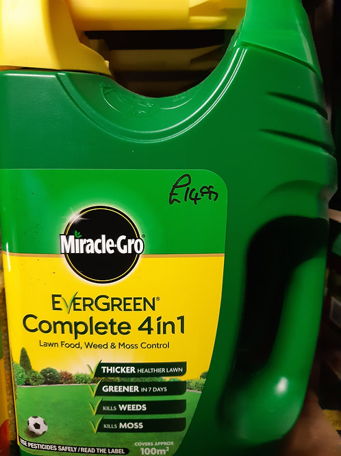 Evergreen complete 4 in 1 feed and weed 100m2