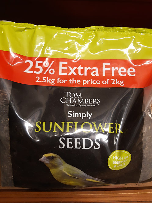 Sunflower seeds 2.5kg