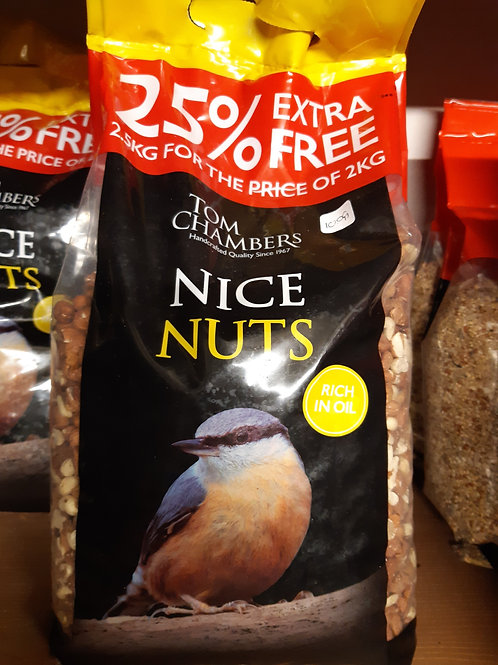 Nice nuts-peanuts 2.5 kg