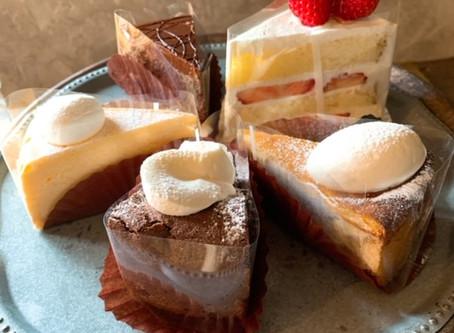 4/22 JAファーマーズ富士見に入ったケーキです。