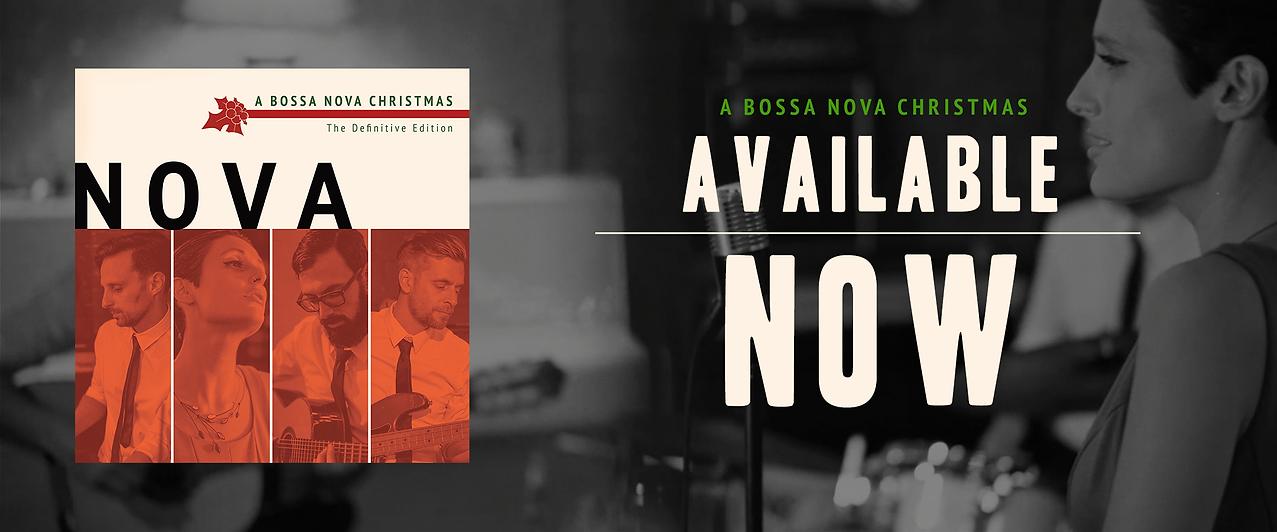 Nova A Bossa Nova Christmas 2020 banner