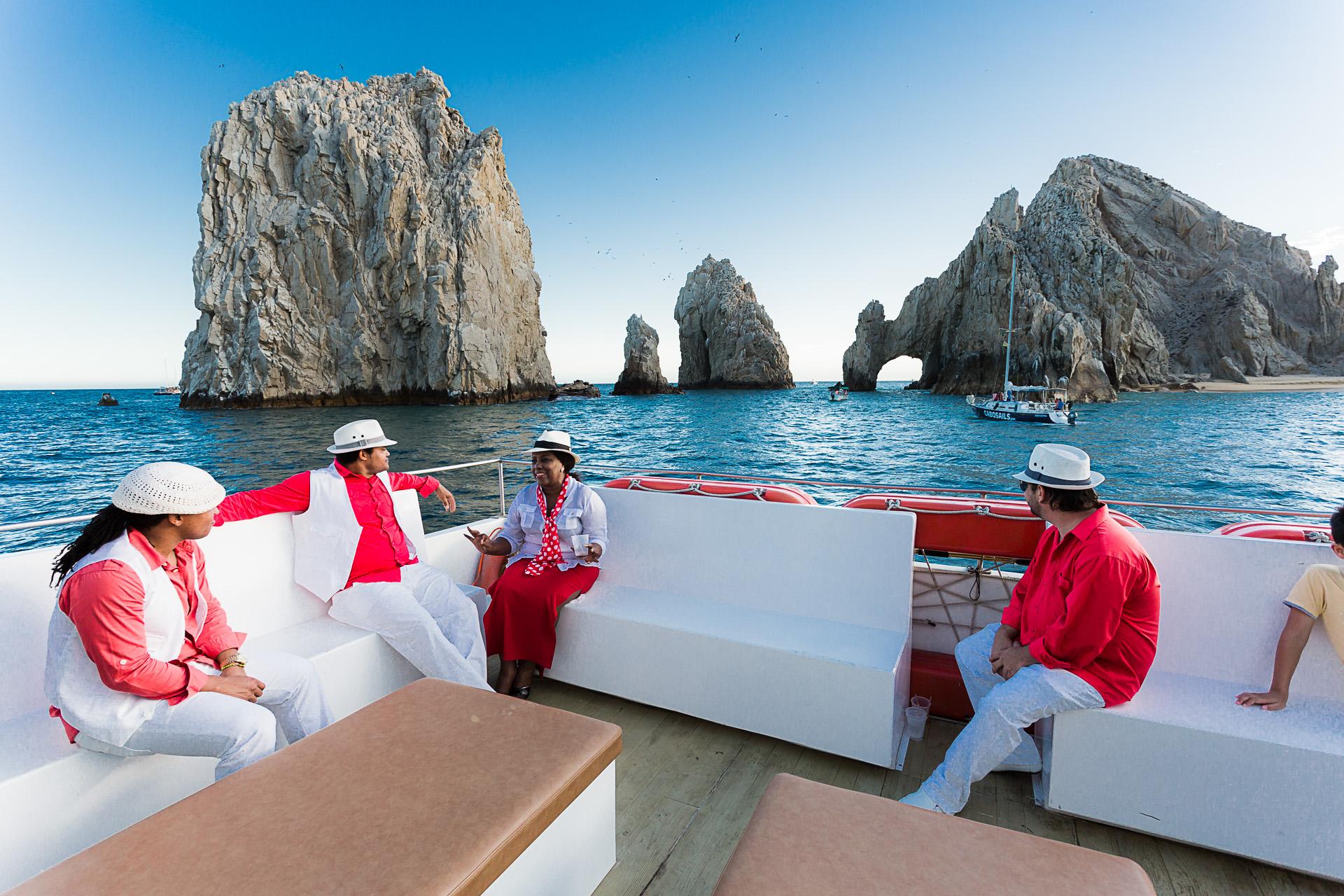 Evento en barco