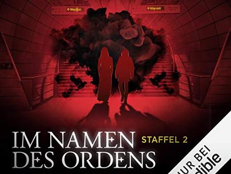 """""""Im Namen des Ordens"""" - Staffel 2 jetzt auf Audible"""
