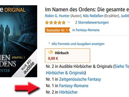 Im Namen des Ordens Platz 2 auf der Bestseller-Liste!