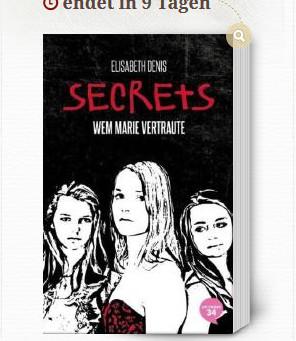 """Leserunde auf Lovelybooks zu Band 2 """"Wem Marie vertraute"""""""