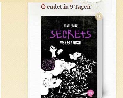 """Leserunde auf Lovelybooks zu """"Was Kassy wusste"""""""