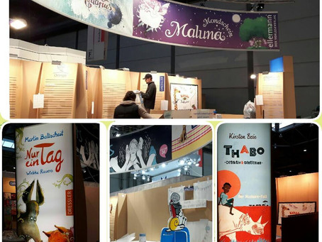 Lesungen und Signierstunde auf der Leipziger Buchmesse 2016