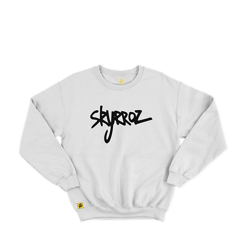 Sweat Skyrroz - White