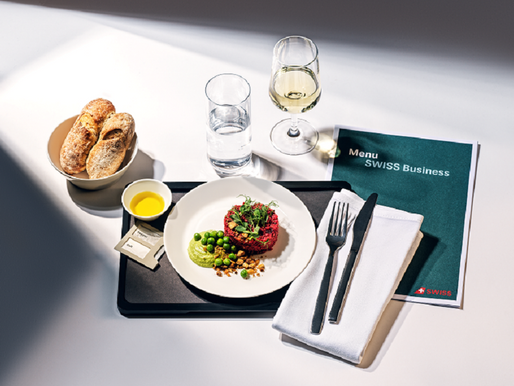 SWISS Launches 'Best of SWISS Taste of Switzerland' and New Long Haul Business Class Concept