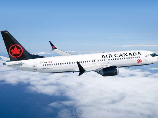 Air Canada to Resume Boeing 737 MAX Service on February 1st, 2021