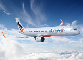 Jetstar Celebrates First International Flight Since April With Service Between Auckland and Sydney