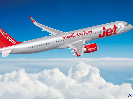 Jet2.com Orders an Additional 15 Airbus A321neos, Expanding Total Order to 51 Aircraft