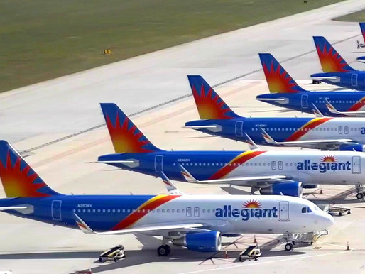Allegiant to Launch 23 New Nonstop Routes for Fall Vacation and Winter Holiday Destinations