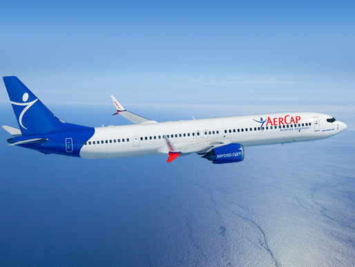 AerCap Reports Second Quarter Net Income of $250 Million on 3 Percent Increase in Revenue to $1.23 B