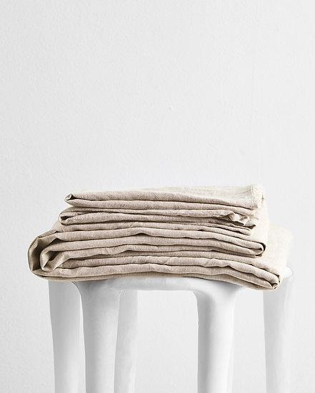 Oatmeal 100% Flax Linen Sheet Set