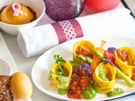 Qatar Airways Introduces Fully Vegan Range of Gourmet Dishes for Premium Guests