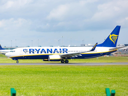 Ryanair Increases Service to Tenerife; Adds new Heraklion-Thessaloniki, Manchester-Bucharest Routes
