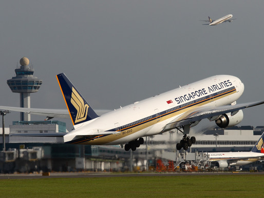 Singapore Airlines Reports First Quarter Loss of US $816.6 Million on 99.5 Percent Traffic Decline