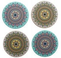 Coasters Pastel Mandala