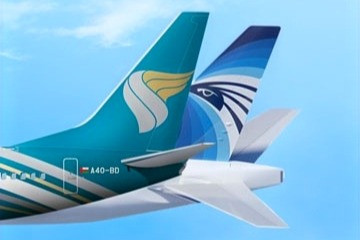 Oman Air and EGYPTAIR Ink Codeshare Agreement, Expanding Network Reach of Both Airlines