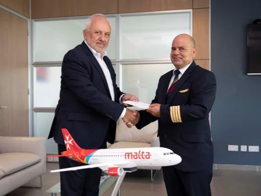 Air Malta Bids Farewell to Chief Pilot After Four Decades of Service