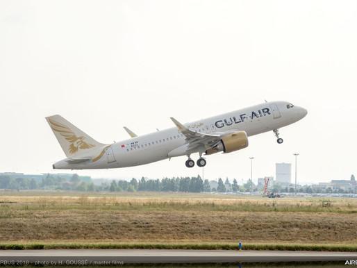 Gulf Air Operates Inaugural Flight between Bahrain and Santorini