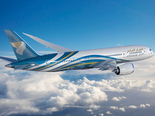 Oman Air to Resume Service to Dubai, Doha, and Cairo From October 1st, 2020