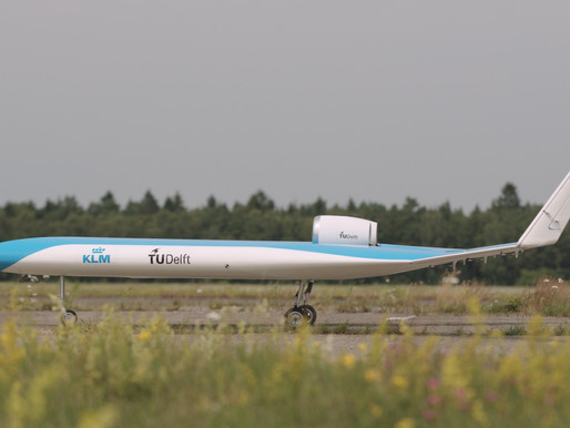 KLM and TU Delft Announce Successful Flight of Flying-V Scale Model
