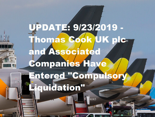 Thomas Cook Seeks Eleventh Hour Bailout From British Government to Avert Collapse