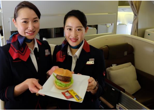 Japan Airlines Will Serve the Plant-Based Beyond Burger® on Select Routes Starting March 1, 2020