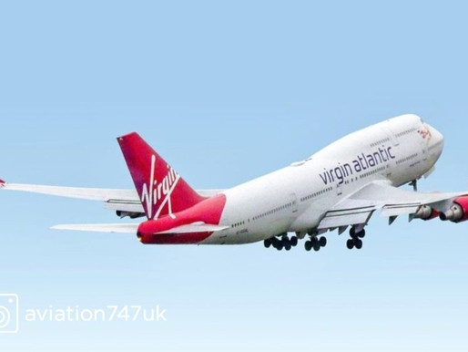 Virgin Atlantic Bids Farewell to Last Boeing 747 With Onboard Pop up Dining Experience