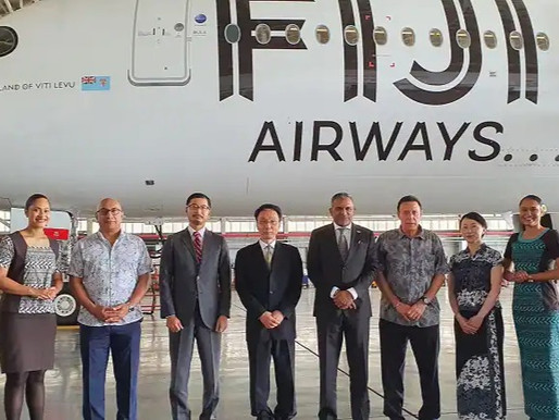 Fiji Airways Signs Agreement With the Asian Development Bank for $65 Million in Liquidity Support
