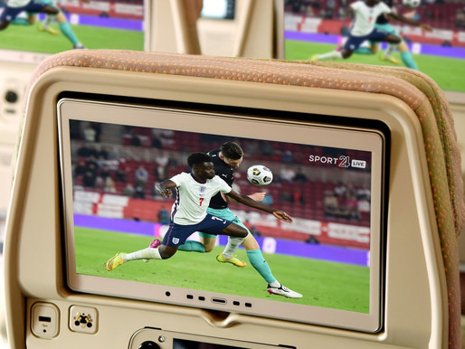 Emirates Offers a Summer of Sports and Cool New Content on Award Winning ice IFE System