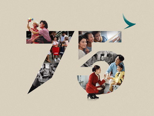 Cathay Pacific Celebrates 75 Years of Service