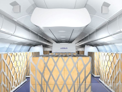 """Airbus Partners With Lufthansa Technik to offer Temporary A330 """"Cargo in the Cabin"""" Solutions"""