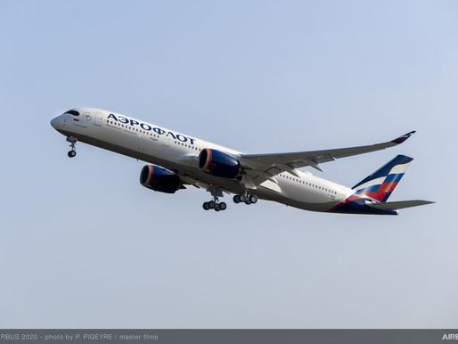 Aeroflot Reports 2020 Net Loss of $1.7 Billion on 55 Percent Decline in Revenue to $4.1 Billion