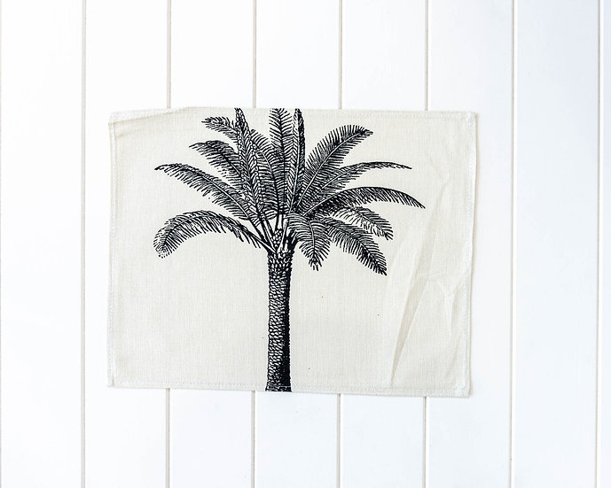 Placemat - Linen Look - Solo Palm Plantation