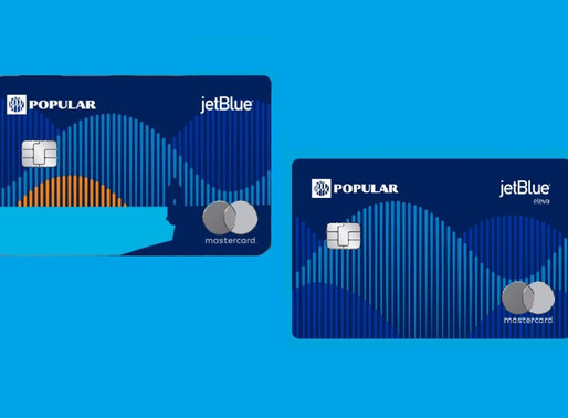 JetBlue and Popular Announce Partnership and the Launch of Two New Credit Cards