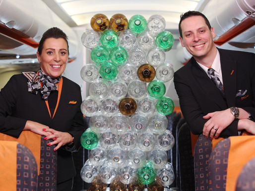 easyJet Rolls Out New Pilot and Cabin Crew Uniforms Made From Recycled Plastic Bottles