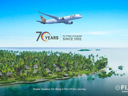 Fiji Airways Celebrates 70 Years of Flight