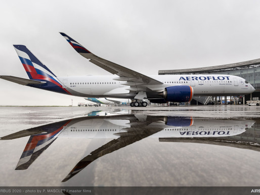 Aeroflot Announces First Half 2020 Net Loss of $785.5 Million on 52 Percent Revenue Decline to $2 B