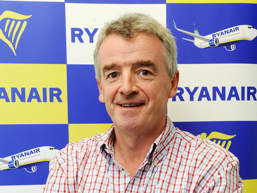 Ryanair CEO Expects Return of 737 Max in February/March, as Company Suspends Boeing Payments